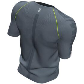Compressport Training T-shirt manches courtes Born To SwimBikeRun 2020 Homme, grey